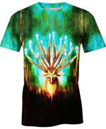 Mononoke Deer God For Man And Women  3D T Shirt  All Over Printed Y97