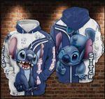 Disney Lilo and Stitch Cute III 3D Hoodie Zip Hoodie N98