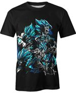 Gogeta Fusions Dragon Ball For Man And Women  3D T Shirt  All Over Printed Y97