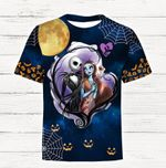 Cartoon Character Dreaming Snoopy 3D All Over Printed T Shirt G95
