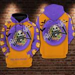 Jack skellington halooween the nightmare before christmas 3D all over printed shirt hoodie Y97