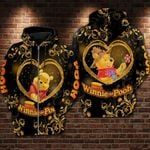 Pooh with flowers winnie the pooh movie disney for man and women 3D all over printed hoodie Y97