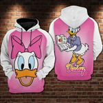 Daisy Duck Disney reading 3d All Over Printed Shirt Hoodie Y97