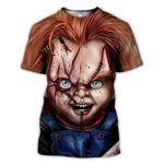 Chucky Halloween 3D T shirt G95