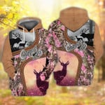 Deer Hunting Country Girl For Men And Women  3D All Over Printed Shirt Hoodie G95