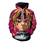 The seven deadly sins meliodas with demon 3D All Over Printed Shirt Hoodie G95