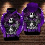 Jack skellington cartoon the nightmare before christmas for man and women 3D all over printed hoodie Y97