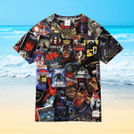 Movie 80s Collage For Man And Women 3D T Shirt  All Over Printed G95