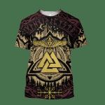 Valknut Viking For Man And Women 3D Hoodie Sweatshirt Zip Hoodie T shirt Y97