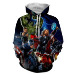 Avengers Marvel  For Man And Women 3D All Over Printed Shirt Hoodie Y97