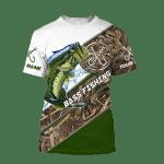 Bass Fishing camo fish one For Man And Women 3D Hoodie Sweatshirt Zip Hoodie T shirt Y97