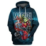 Marvel Avengers For Man And Women 3d All Over Printed Shirt Hoodie Y97