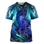 Dragon Crystai 3D Hoodie Sweatshirt Zip Hoodie T shirt G95