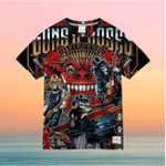 Guns N' Roses For Man And Women 3D T Shirt  All Over Printed G95