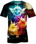 Eevee Evolution For Man And Women 3D T Shirt  All Over Printed G95