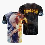 Todoroki My Hero Academia Anime Manga For Man And Women 3D T Shirt  All Over Printed Y97
