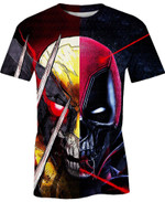 The Anti Protector Marvel Comics For Man And Women  3D T Shirt  All Over Printed Y97