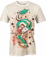 Princess Mononoke And Dragon Haku For Man And Women  3D T Shirt  All Over Printed Y97