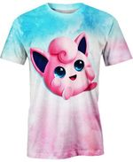 Jigglypuff  For Man And Women 3D T Shirt  All Over Printed G95
