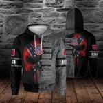 Red Neck Nation Skull 3D All Over Printed Shirt Hoodie G95