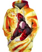 Jiren Power Fire Dragon Ball 3D All Over Printed Shirt Hoodie Y97