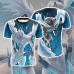 Digimon Omegamon 3D T Shirt  All Over Printed For Man And Woman G95