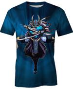 Yokai Samurai For Man And Women 3D T Shirt  All Over Printed G95