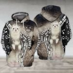 Love Ferret For Man And Women 3d All Over Printed Shirt Hoodie Y97