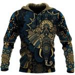 Elephant Royal Mandala 3D All Over Printed Shirt Hoodie G95