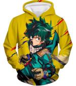 My hero academia izuki midoriya aka deku amazing 3D All Over Printed Shirt Hoodie G95
