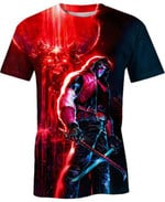 Red Hood Outlaw For Man And Women 3D T Shirt  All Over Printed G95