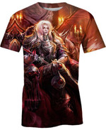 Alucard from Castlevania For Man And Women 3D T Shirt  All Over Printed G95