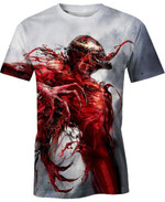 Carnage Justice For Man And Women 3D T Shirt  All Over Printed G95