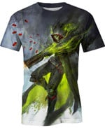 Reaper Overwatch The Legend of Korra For Man And Women 3D T Shirt  All Over Printed Y97