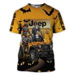 Halloween Funny Jeep Love 3D T shirt G95