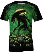 Cave of Aliens For Man And Women 3D T Shirt  All Over Printed G95