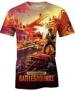 Battlegrounds For Man And Women 3D T Shirt  All Over Printed G95