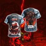 Doom Slayer 3D T Shirt  All Over Printed For Man And Woman G95
