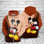 Mickey mouse movie disney 26 for man and women 3D all over printed zip hoodie Y97