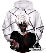 Tokyo ghoul one eyed ghoul ken kaneki 3D All Over Printed Shirt Hoodie G95