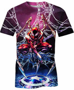 The Iron Spider For Man And Women 3D T Shirt  All Over Printed G95