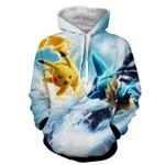 Pikachu pokemon jacket 3D All Over Printed Shirt Hoodie G95