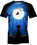 Kiki's Delivery Service Moon For Man And Women  3D T Shirt  All Over Printed Y97