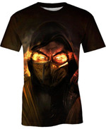 Scorpion Mortal Kombat  For Man And Women 3D T Shirt  All Over Printed G95
