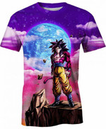 Goku Ultra Instinct Silver For Man And Women 3D T Shirt  All Over Printed G95