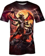 Demon of The Night For Man And Women 3D T Shirt  All Over Printed G95