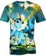 Vaporeon For Man And Women 3D T Shirt  All Over Printed G95