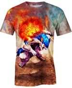 Typhlosion For Man And Women 3D T Shirt  All Over Printed G95