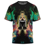 Cosmic Hue Gyomei Demon Slayer For Man And Women 3D T Shirt  All Over Printed G95