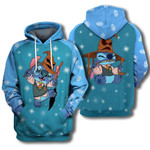 Adorable Harry Potter Stitch  3d All Over Printed Shirt Hoodie Y97